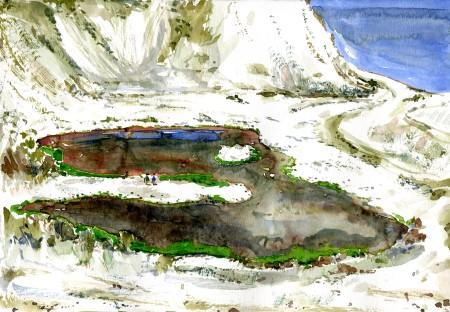 kridtbrud, Holtug Stevns klint